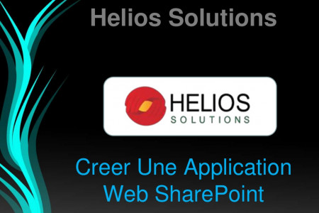 Creer Une Application Web SharePoint Infographic