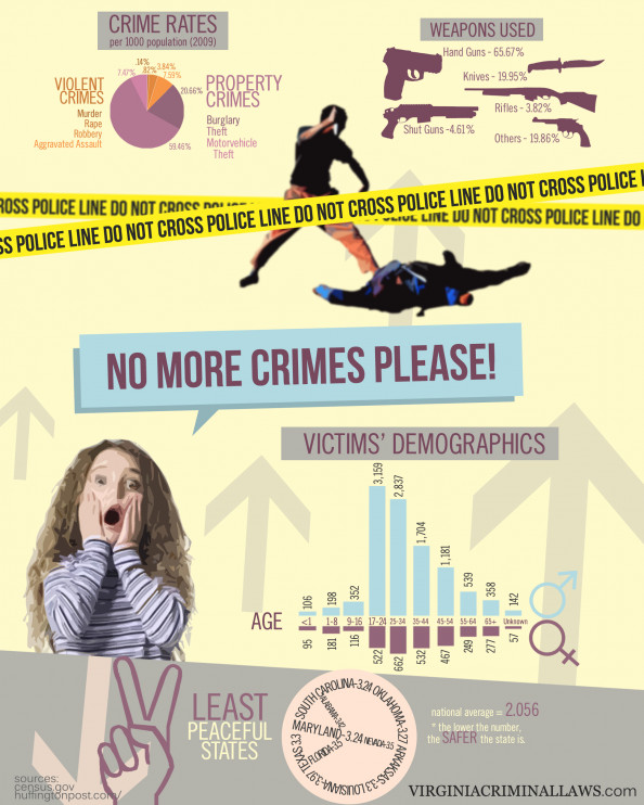Crime Rates Infographic