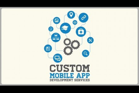 Custom Mobile App Development Services by Konstant Infosolutions  Infographic