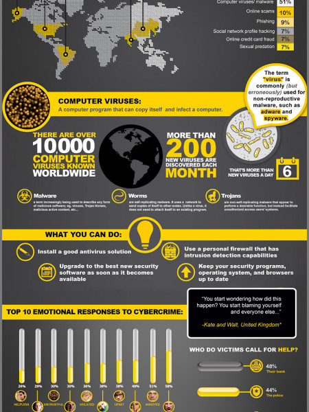 Cybercrime Report: The Human Impact Infographic