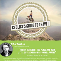 Cyclist's Guide to Travel Infographic