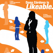 Dana Córdova is Likeable Infographic
