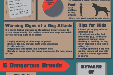 Dangerous Dog Bites Infographic