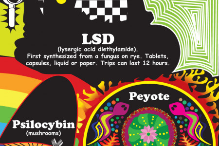 Dangers and Effects of Hallucinogens Infographic