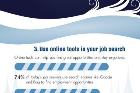 Dashing Through The Winter Job Search Infographic