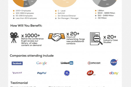 Data Visualization Summit SF Infographic