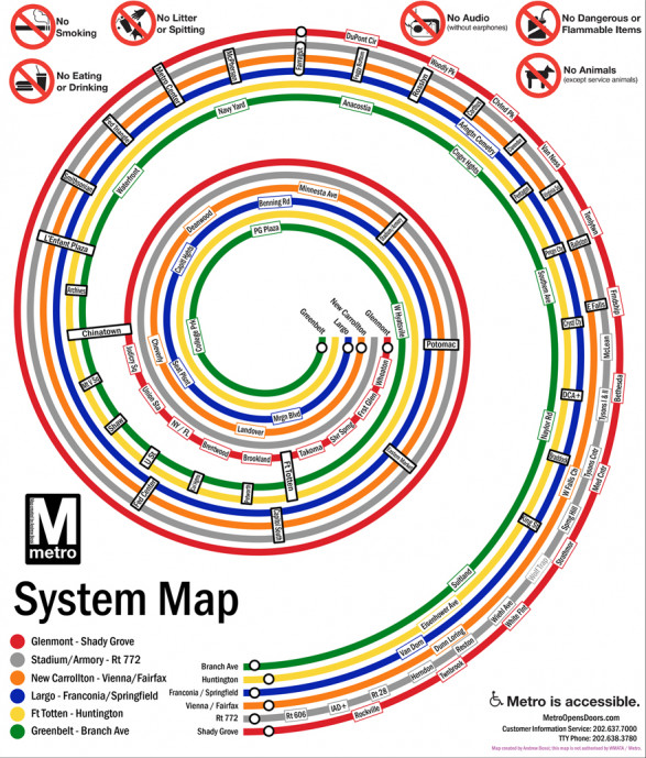 DC Metro Spiral