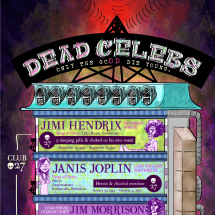 Dead Celebs Infographic