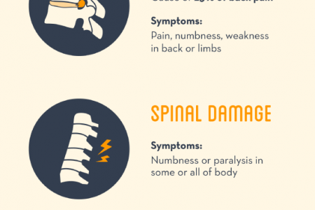 Dealing with Back or Neck Pain Following an Auto Accident Infographic