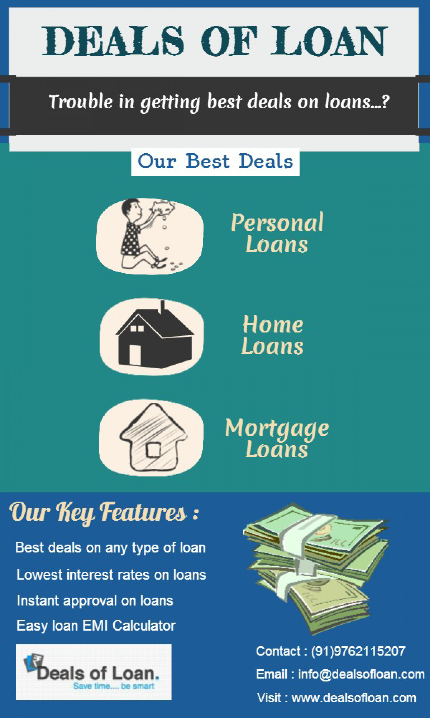 Deals of Loan Infographic