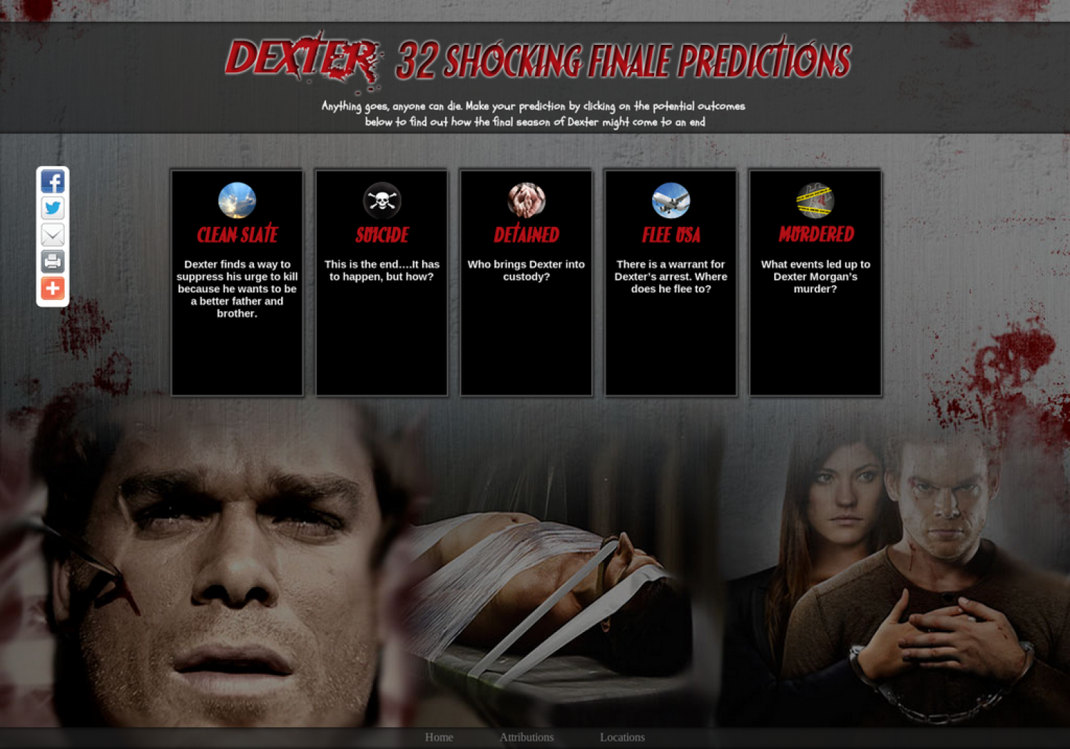 Dexter: 32 Shocking Finale Predictions Infographic