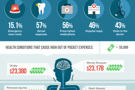 Diagnosing the Cause of Medical Debt in the US Infographic
