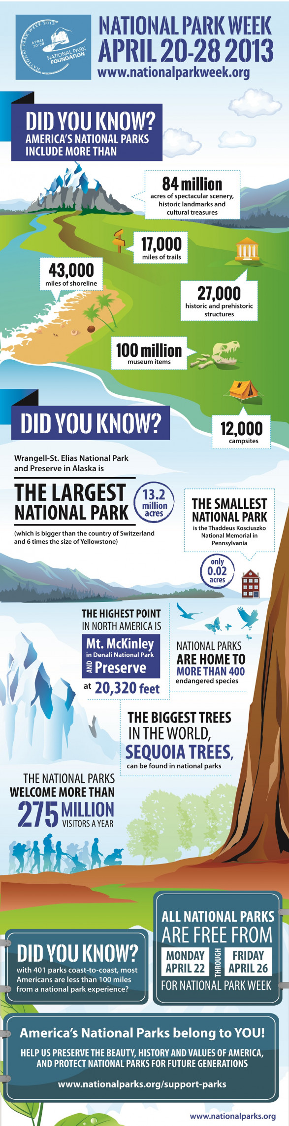 Did You Know National Park Week Is April 20-28?