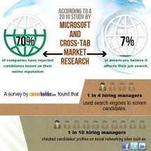 Digital Delving: Maintaining a Positive Cyber Image Infographic