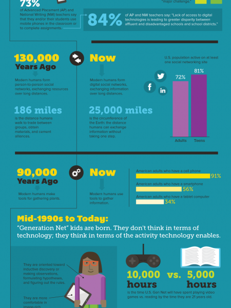 Digital Initiatives in STEM Education Infographic