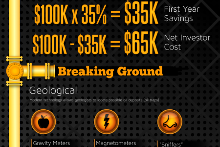 Direct Participation Oil Investments Infographic
