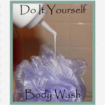 DIY - Body Wash Infographic