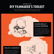DIY Filmmaker's Toolkit Infographic