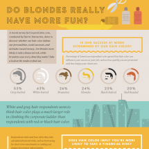 Do Blondes Really Have More Fun? Infographic
