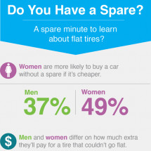 Do you have a spare? Infographic