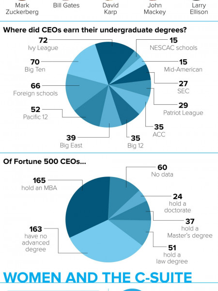 What Does it Take to be a CEO? Infographic