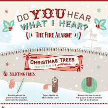 Do You Hear What I Hear? The Fire Alarm! Infographic