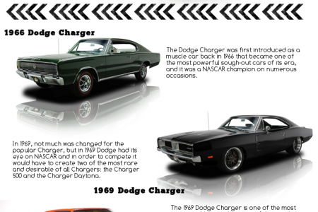 Dodge Charger Infographic
