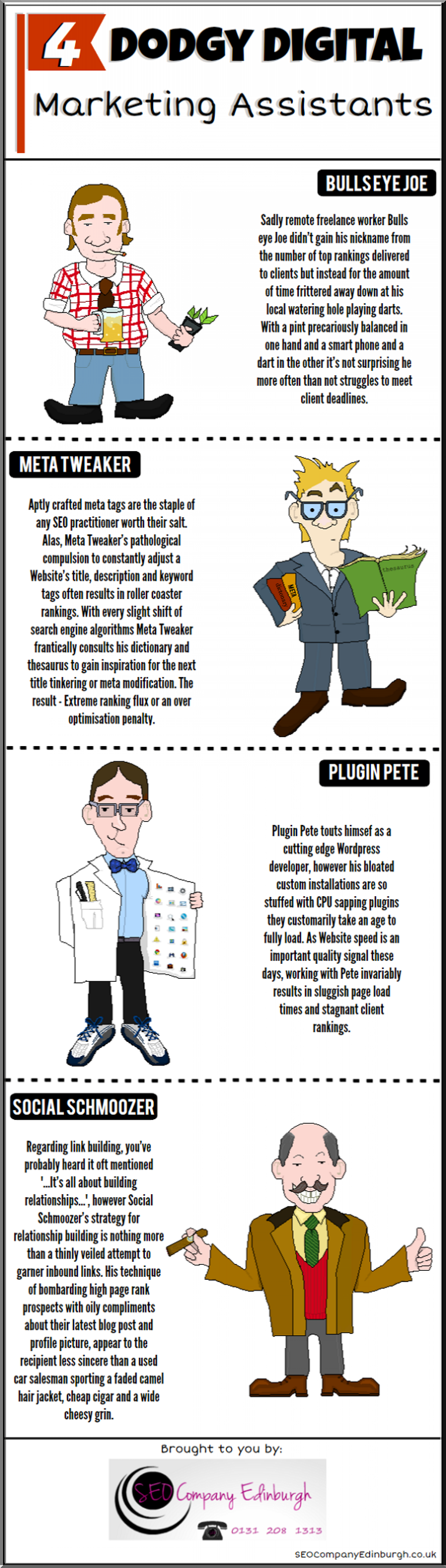 Dodgy Digital Marketers Infographic