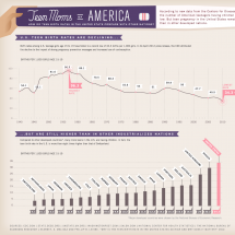 Does Income Inequality Cause High Teen Pregnancy Rates? Infographic
