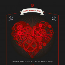 Does money make you more attractive? Infographic