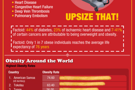 Does This Make Me Look Fat? Obesity is Everywhere Infographic