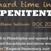 Doing Hard Time in Kingston Penitentiary Infographic