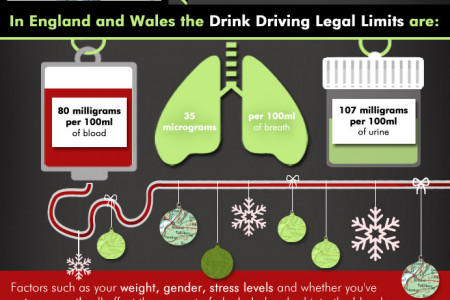 Don't Drink & Drive this Christmas Infographic