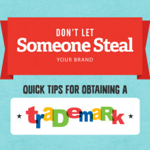 Don't Let Someone Steal Your Brand Infographic