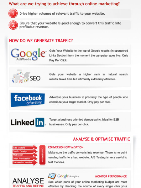DPFOC- Online Marketing  Infographic