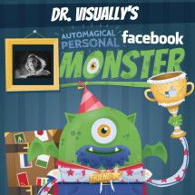 Dr. Visually's Automagical Personal Facebook Monster Infographic