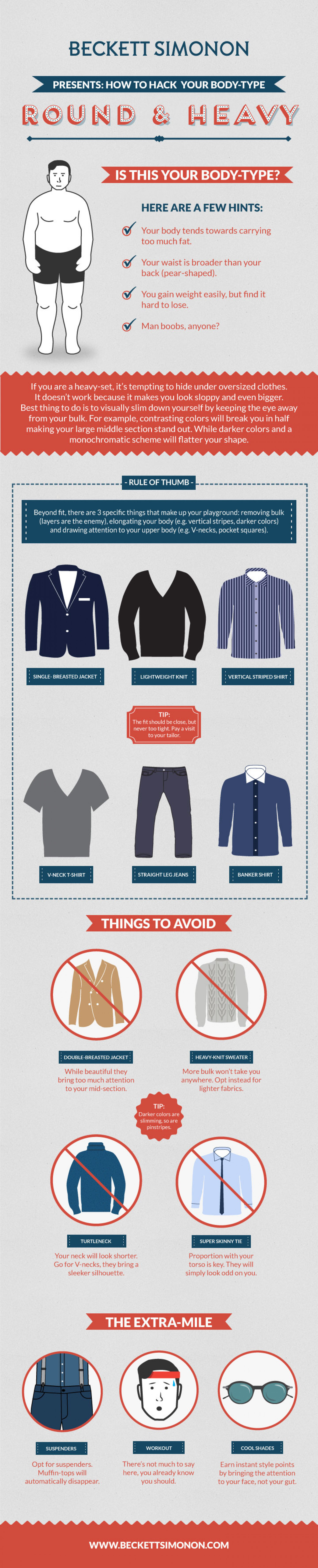 Dress For Your Body Type Style Tips For Fat Men