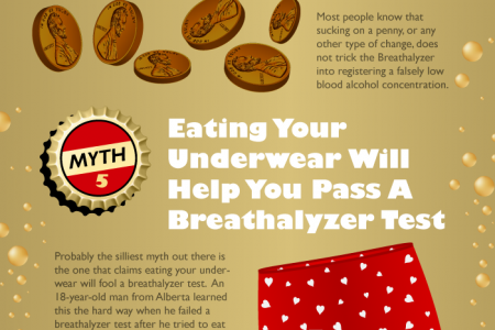 DUI Breathalyzer Myths Debunked Infographic