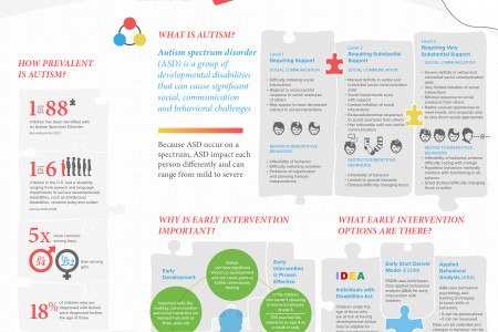 Early Intervention for Children with Autism Infographic