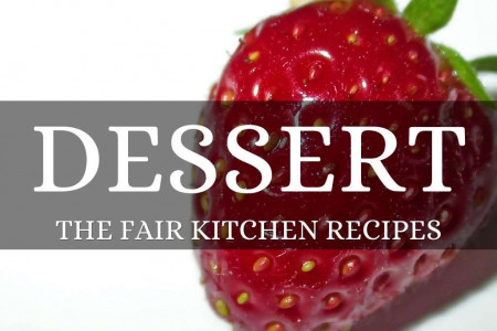 Easy Dessert Recipes - The Fair Kitchen Recipes Infographic