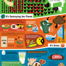 Eating Animals: The Facts Infographic