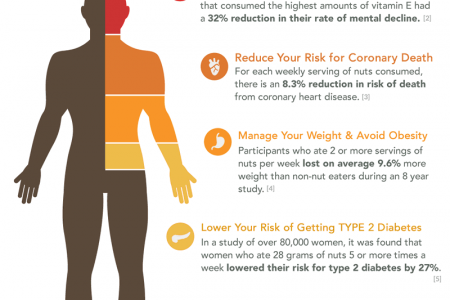Eating Nuts For Health Infographic