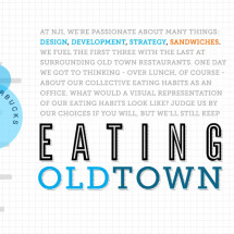 Eating Old Town Infographic