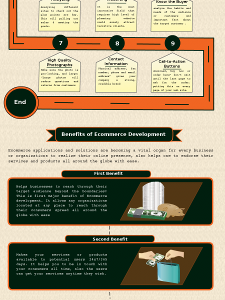 Ecommerce Development Infographic