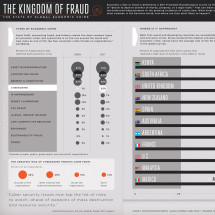 Economic Crime Around the World Infographic