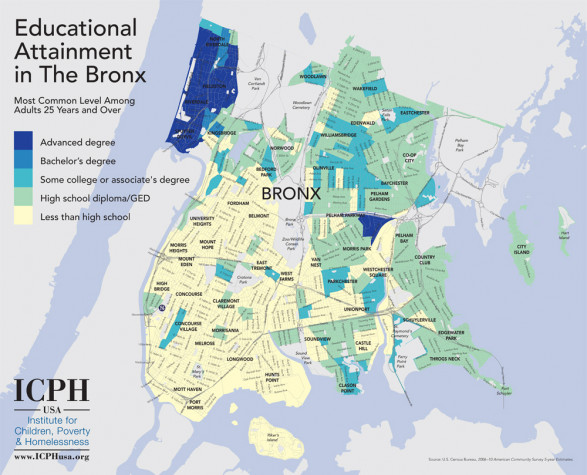 Educational Attainment in the Bronx
