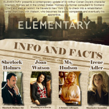 Elementary Info and Facts Infographic