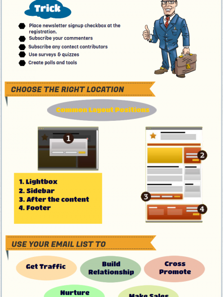 Grow your business with Email Marketing Infographic