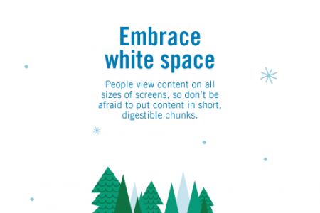 Embrace White Space Infographic