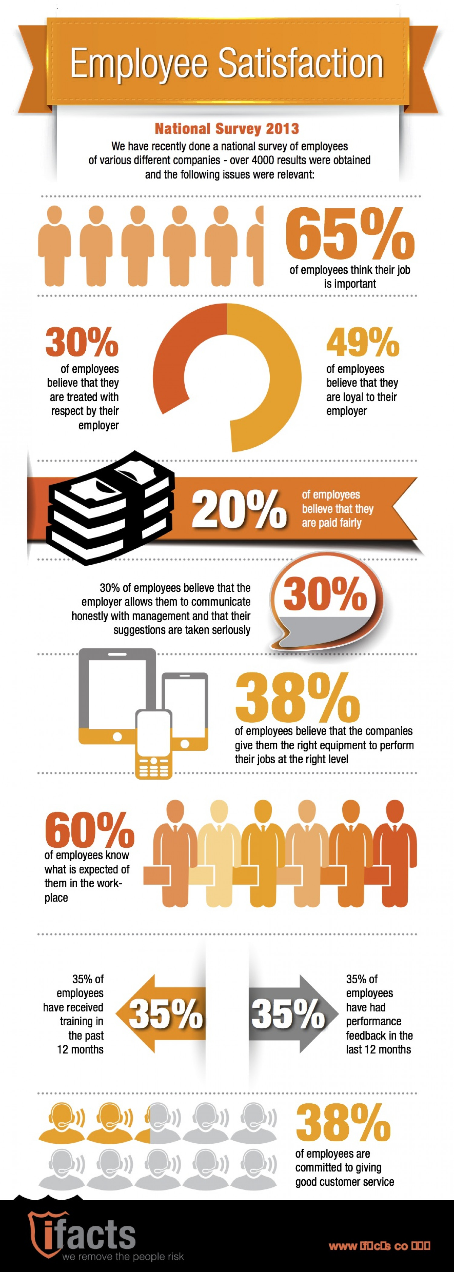 Employee Satisfaction Survey Infographic